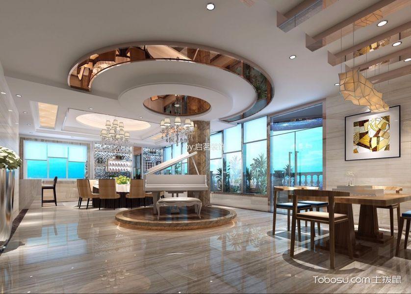 2021现代欧式300平米以上装修效果图片 2021现代欧式套房设计图片