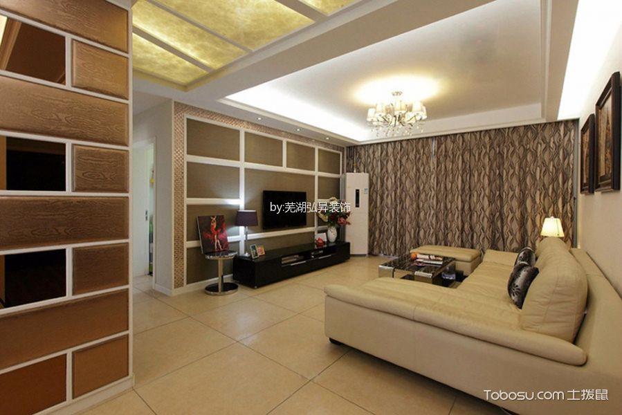 甘棠苑126平米现代简约风格的实景图