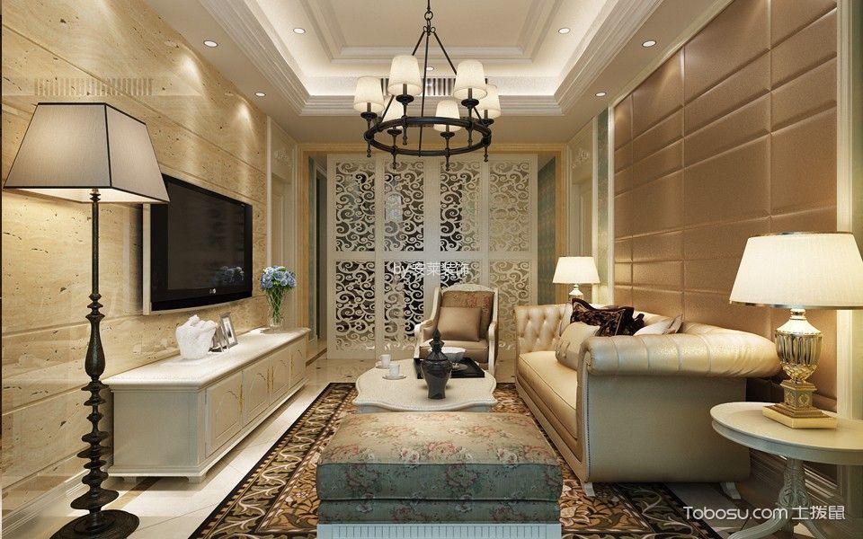 如东掘西村新古典风格室内效果图