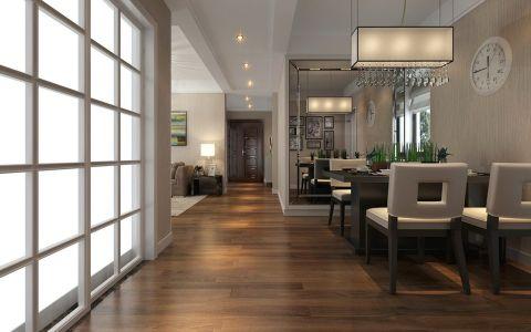 家天下130平房户型现代简约风格效果图
