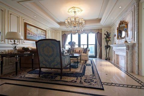 泛海国际香海园305平半包五居室装修设计图