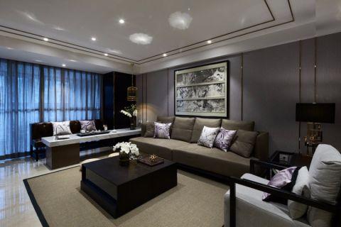 2019中式120平米装修效果图片 2019中式四居室装修图
