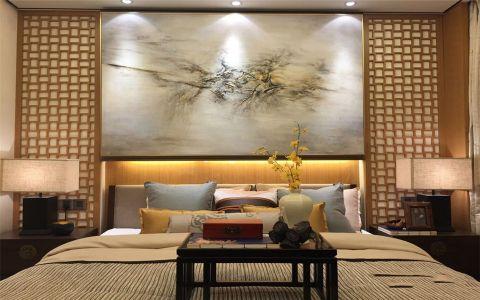 2019中式90平米效果图 2019中式公寓装修设计
