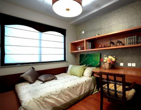 中天名园东南亚风格两室一厅装修案例图