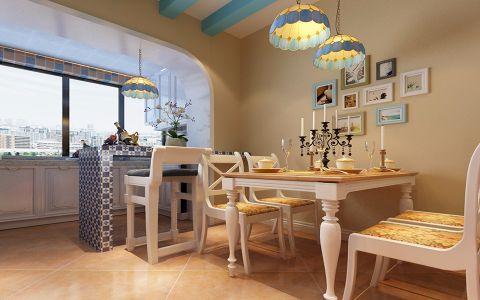 龙湾写意地中海风格装修设计效果图