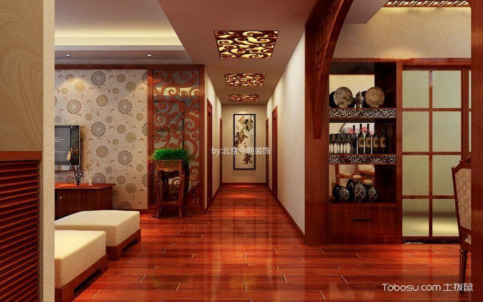 天玺公馆208平米新中式装饰设计图