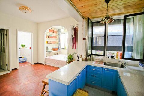 V领寓40平小公寓地中海风格装修效果图