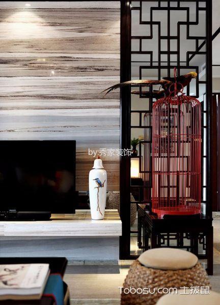天鸿香榭里152方中式装饰效果图