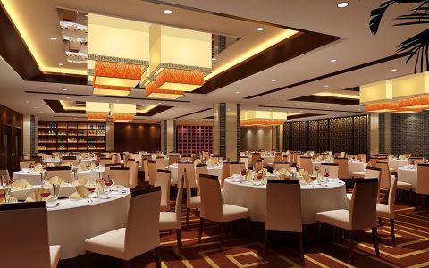3500平方中式酒店装修效果图
