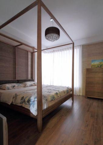 卧室东南亚风格装潢图片