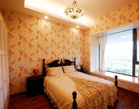 香溢澜桥东南亚风格三室一厅装修效果图