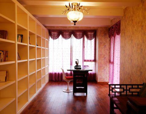 书房博古架东南亚风格效果图