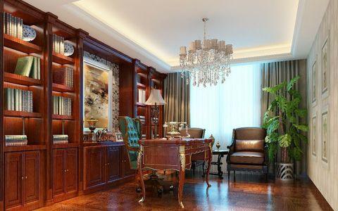 书房吧台欧式风格装饰设计图片
