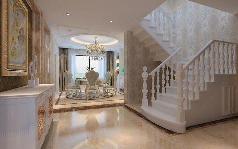 玄关楼梯欧式风格装饰效果图