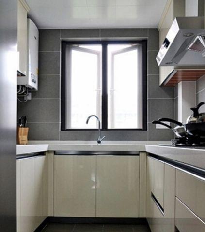 厨房现代简约风格效果图