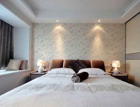 卧室飘窗现代简约风格装修效果图