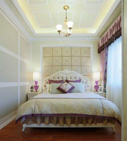 卧室吊顶洛可可风格装修设计图片