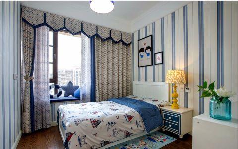 儿童房照片墙美式风格装修图片