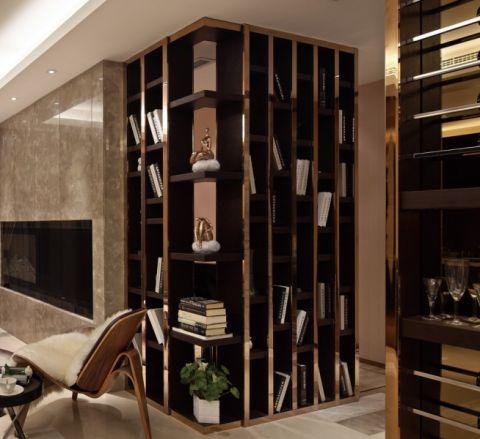 书房现代简约风格装饰设计图片