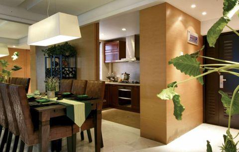 餐厅东南亚风格装潢效果图
