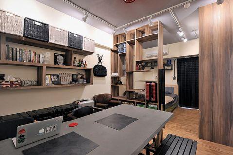 V领寓公寓工业风装修效果图