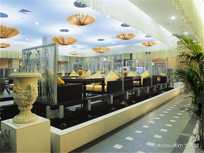 餐厅装潢设计图片