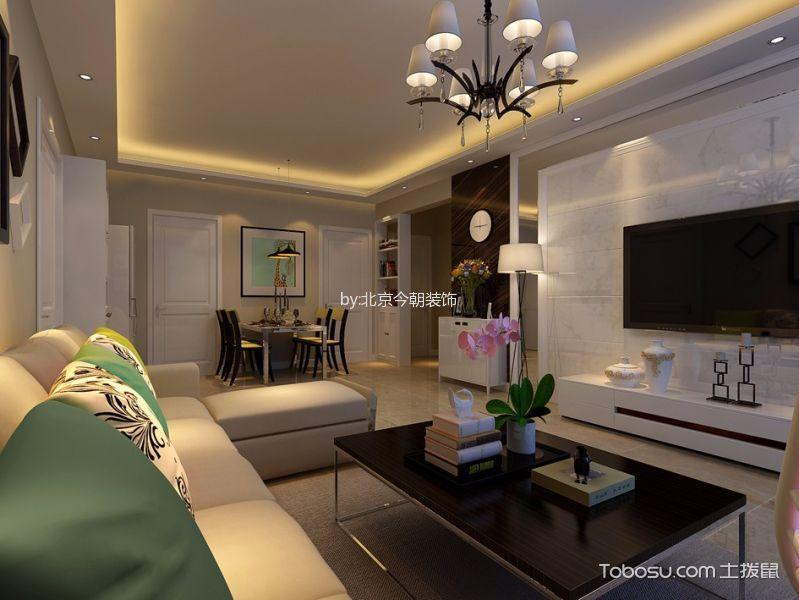 府东公馆100平米现代简约设计效果图