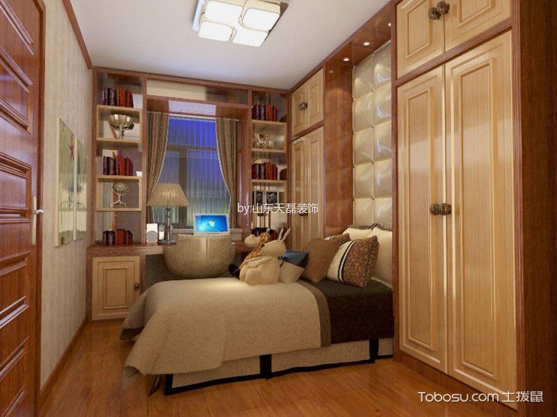 海亮艺术华府三居室130平米设计效果图