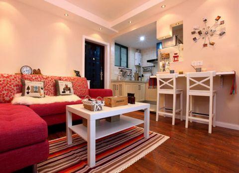 澳海澜庭现代简约婚房装修效果图
