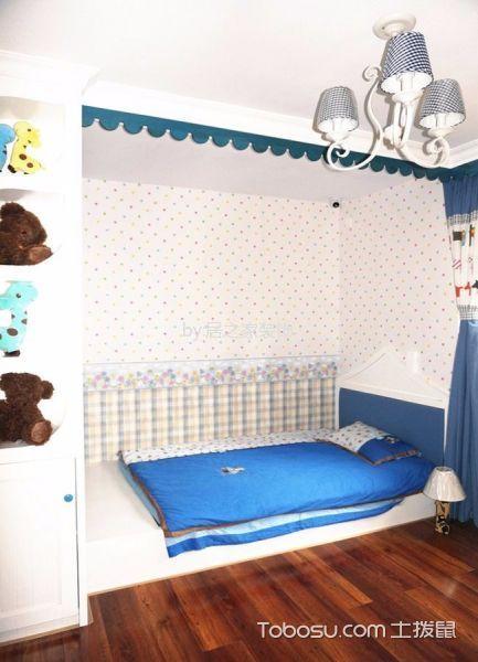 儿童房榻榻米地中海风格装饰图片