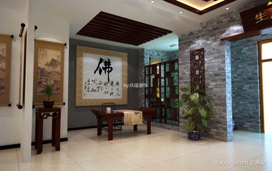 东莞市岭南书画院中式画廊展厅装修效果图图片