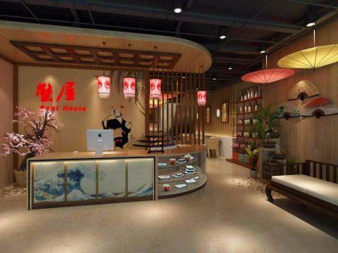 日本料理店和风装修效果图