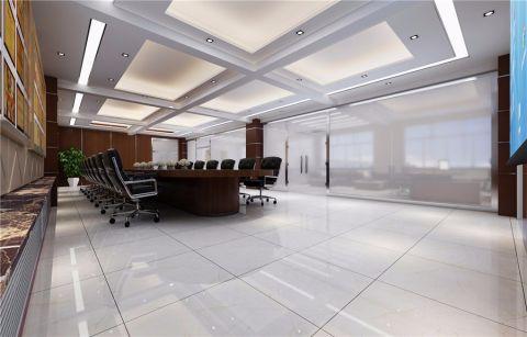 国家电力办公室现代风格装修效果图