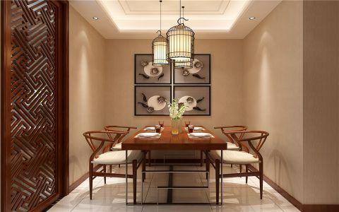 2020新中式110平米装修图片 2020新中式二居室装修设计