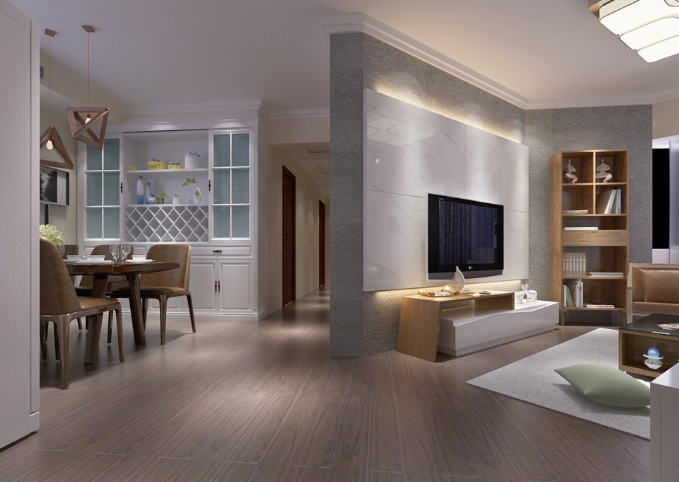 2室1卫2厅145平米现代简约风格