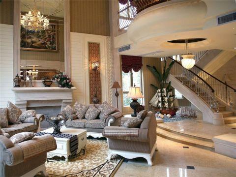 美式古典风格别墅设计效果图