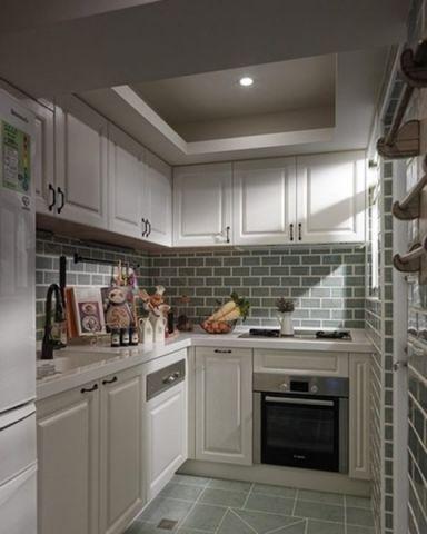 厨房地中海风格装修图片