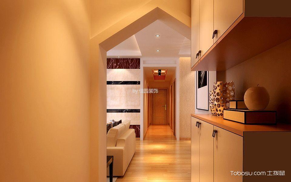玄关白色鞋柜简约风格装饰效果图