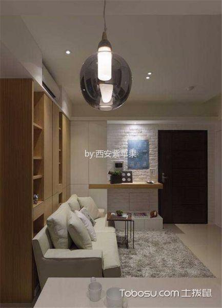 2020韩式客厅装修设计 2020韩式灯具图片