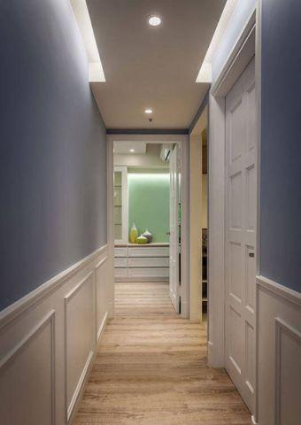 走廊简约风格装潢设计图片