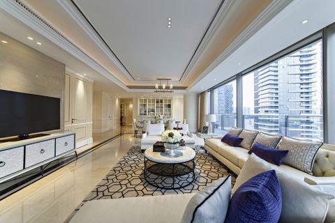 2021现代简约240平米装修图片 2021现代简约四居室装修图