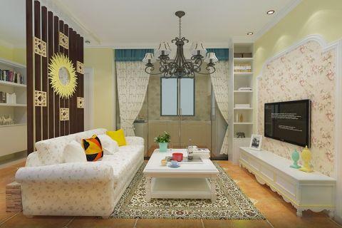 2020欧式田园90平米装饰设计 2020欧式田园二居室装修设计