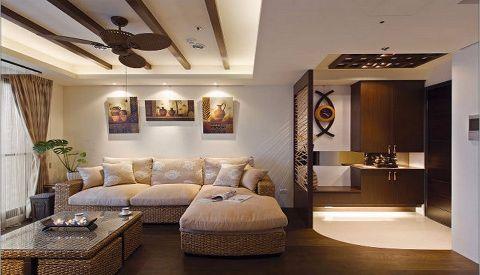 2019东南亚90平米装饰设计 2019东南亚二居室装修设计