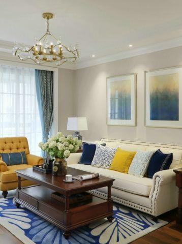 2021新古典100平米图片 2021新古典二居室装修设计