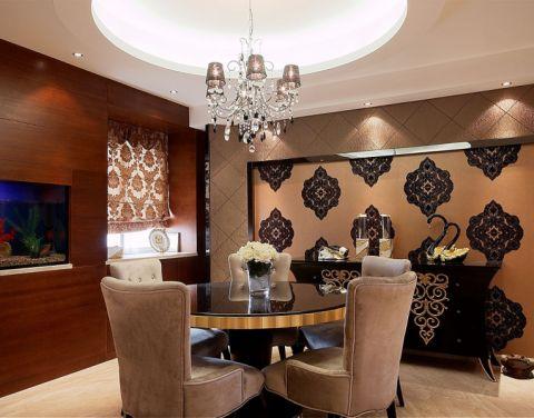新濠潤境歐式風格兩室一廳裝修案例