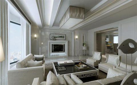 130平米简欧风格三居室装修效果图