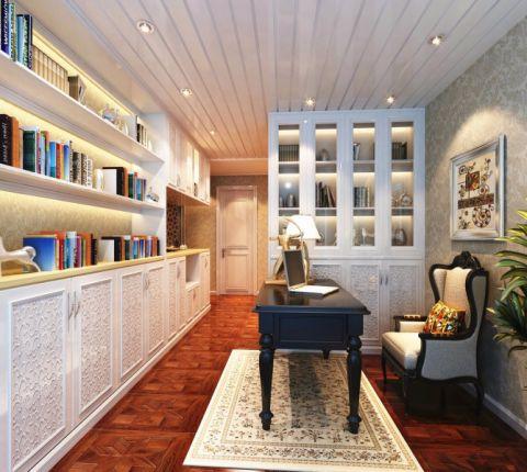 蓝蝶苑复式楼层欧式风格设计效果图