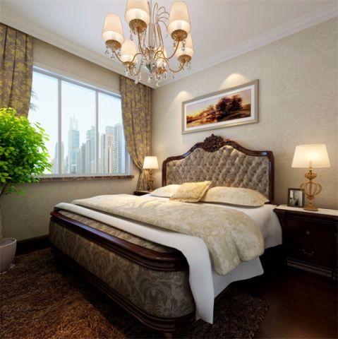 2019欧式110平米装修图片 2019欧式二居室装修设计