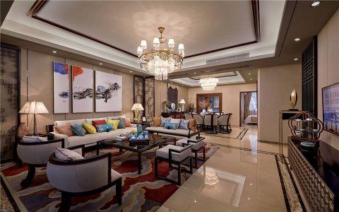 2019中式120平米装修效果图片 2019中式公寓装修设计