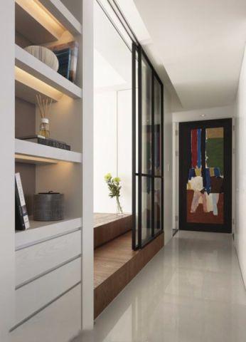 走廊北欧风格装潢图片